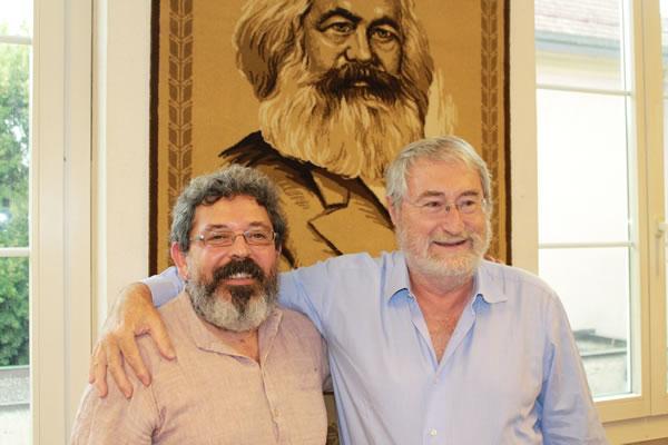 Gavriel Pinson und Norberto Crivelli
