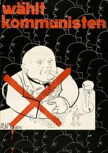 Wahlplakat der KPS im Jahr 1929
