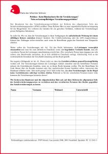 Petition herunterladen